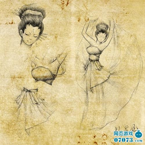 杨玉环图片手绘动漫版
