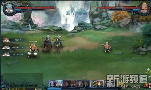 每回合开始精气值都会增加《斗侠》独创性地增加了战斗杀意值系统